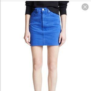 Rag & bone denim skirt